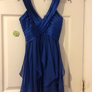 BCBG short blue dress